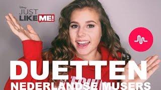 MUSICAL.LY - MET NEDERLANDSE MUSERS - MEGALEUKE GIVEAWAY DISNEY CHANNEL
