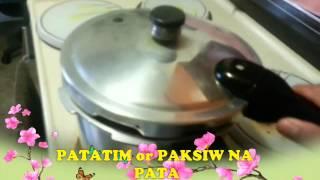 HOW TO COOK PATATIM PAKSIW NA PATA