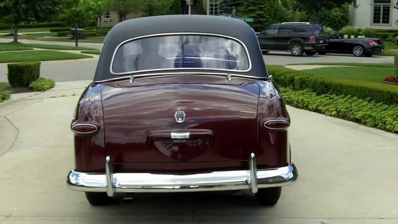 1950 Ford Crestliner Classic Muscle Car for Sale in MI Vanguard ...