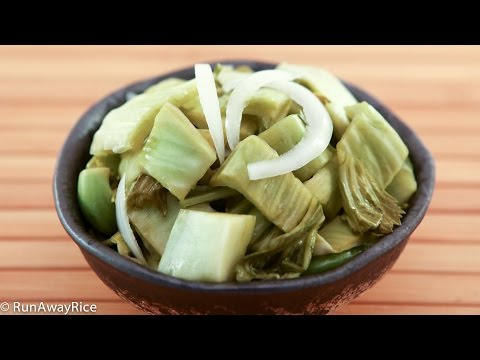 Pickled Mustard Greens (Dua Cai Chua)