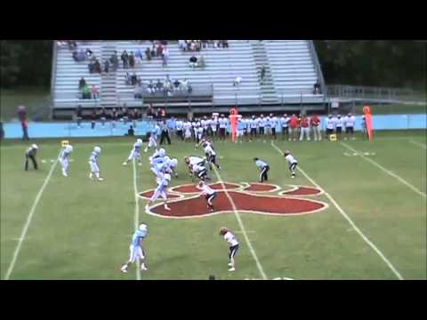 Brandon Rankhorn Sr, Football Highlight Film Rossville Christian Academy