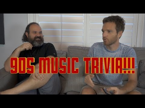 90s Music Trivia! Can You Beat Stich and Sean!?