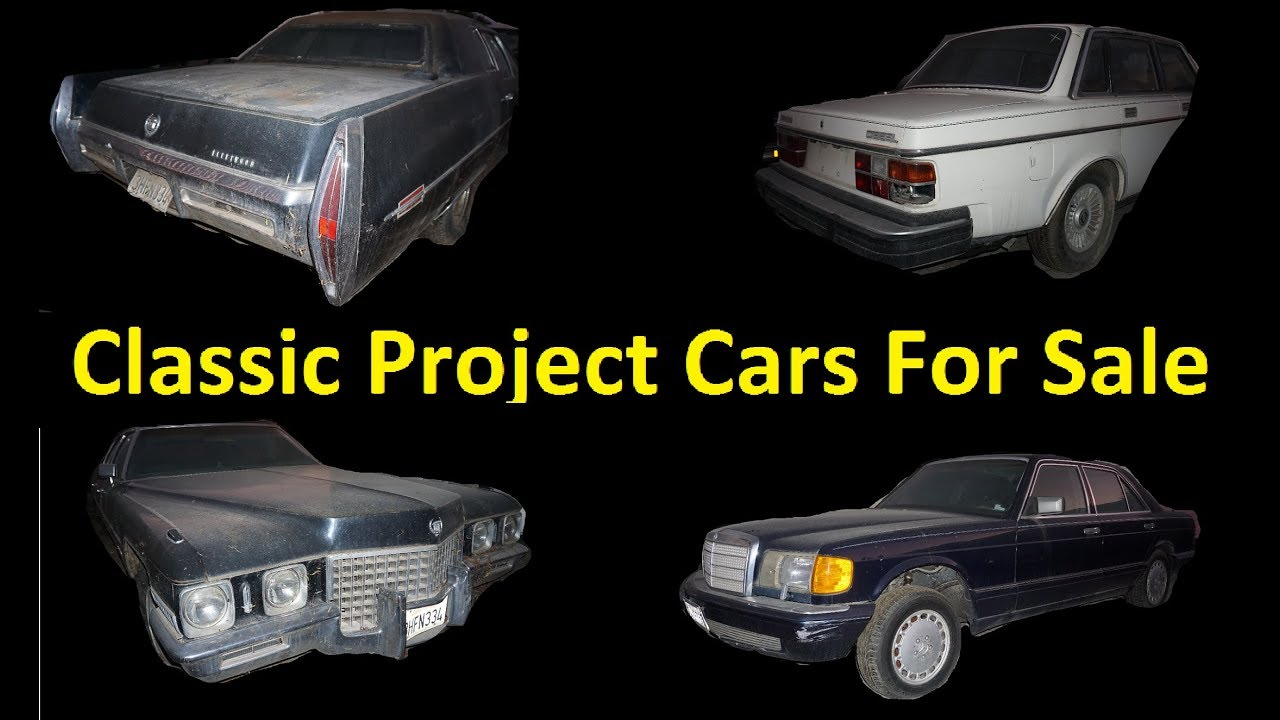 Buy Classic Muscle EURO ~ Old Cars For Sale ~ Barn Find Projects ...