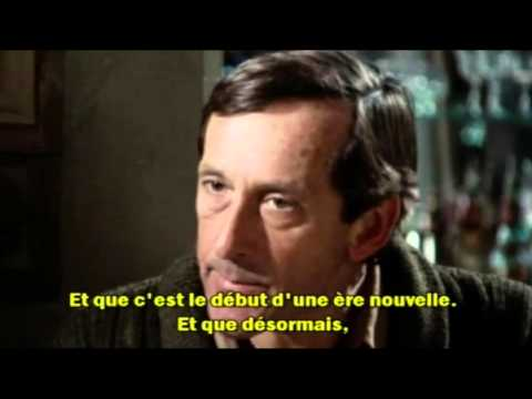 """""""My Dinner with Andre"""" (1981) (Excerpt, with French subtitles)"""