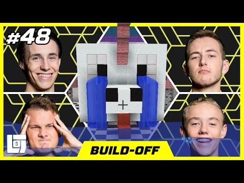 Minecraft Build-Off met Jeremy, Link, Ronald en Quin | XL Battle | LOGNL #48