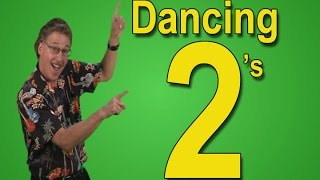 Count by 2 | Dancing 2's | Skip Counting by 2 | Count to 100 | Educational Songs | Jack Hartman