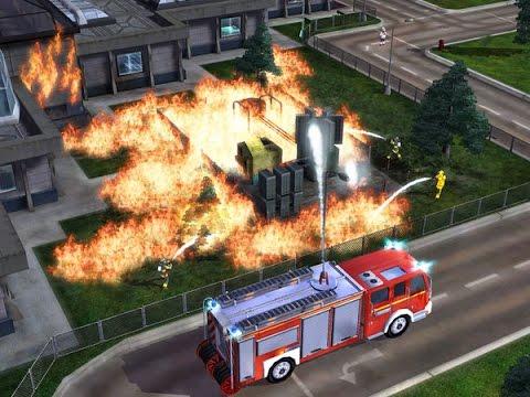 Camions de pompiers dessin anim dessin anim incendie et de secours pompiers dessin anim - Dessin anime pompier gratuit ...