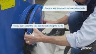 SandStorm™ filter - Replacing the media | Netafim