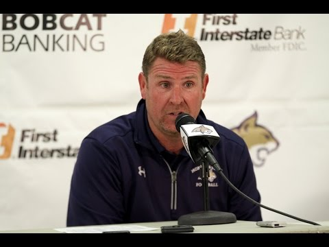Montana State press conference - post Northern Arizona: Head coach Jeff Choate