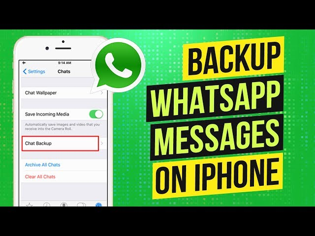 2 Ways to Backup WhatsApp Messages on iPhone or iPad | WhatsApp Backup