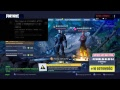 Fortnite robimy omege MAX LVL t Road to 200 SUBSCRIBE [LIVE]