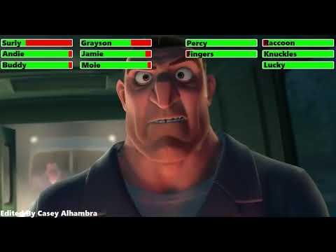 Download The Nut Job (2014) Final Battle with healthbars 2/3