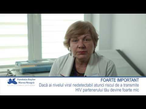 Dr. Violeta Cîndea - Știi de ce este important să ai un nivel viral nedetectabil?