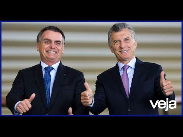 Giro Veja: Em encontro com Bolsonaro, Macri chama Maduro de ditador