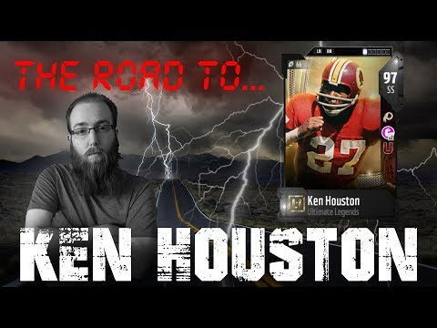 Road to Ken Houston! Over 800K Sniped! Best SS in the Game! Madden 18 Ultimate Team Making Coins