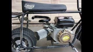 Coleman Ct200u Minibike Exhaust