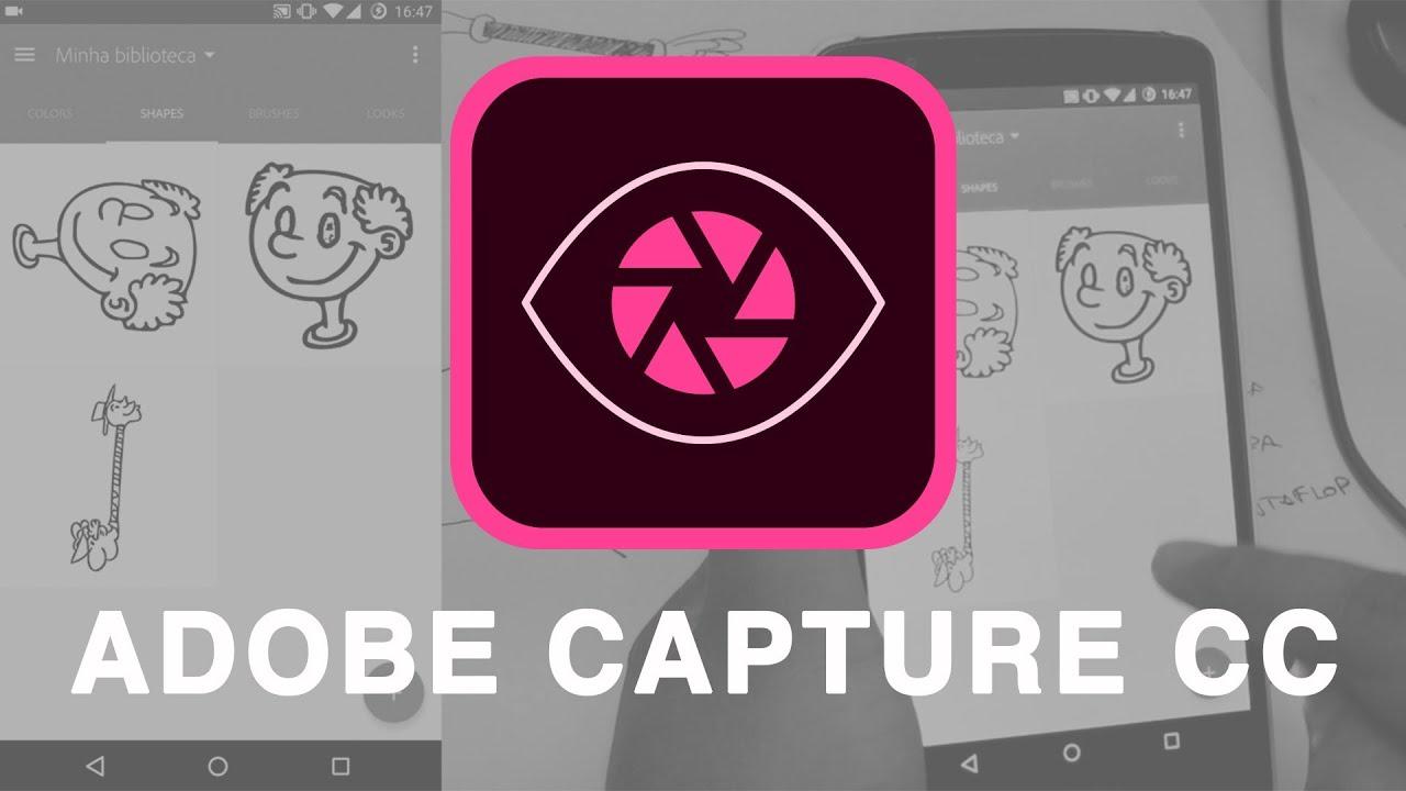 "adobe capture cc - ""shapes tool"" walkthrough - youtube"