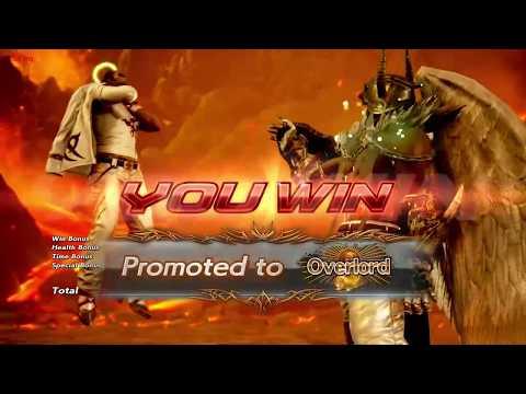 Tekken 7 Jin and Devil Jin Promotion match videos *The Dark Prince*