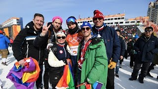 Americans Gus Kenworthy and Nick Goepper advance to the men