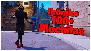 SHOWING IKÔNIKO SKIN & 100 + BACKPACKS | FORTNITE
