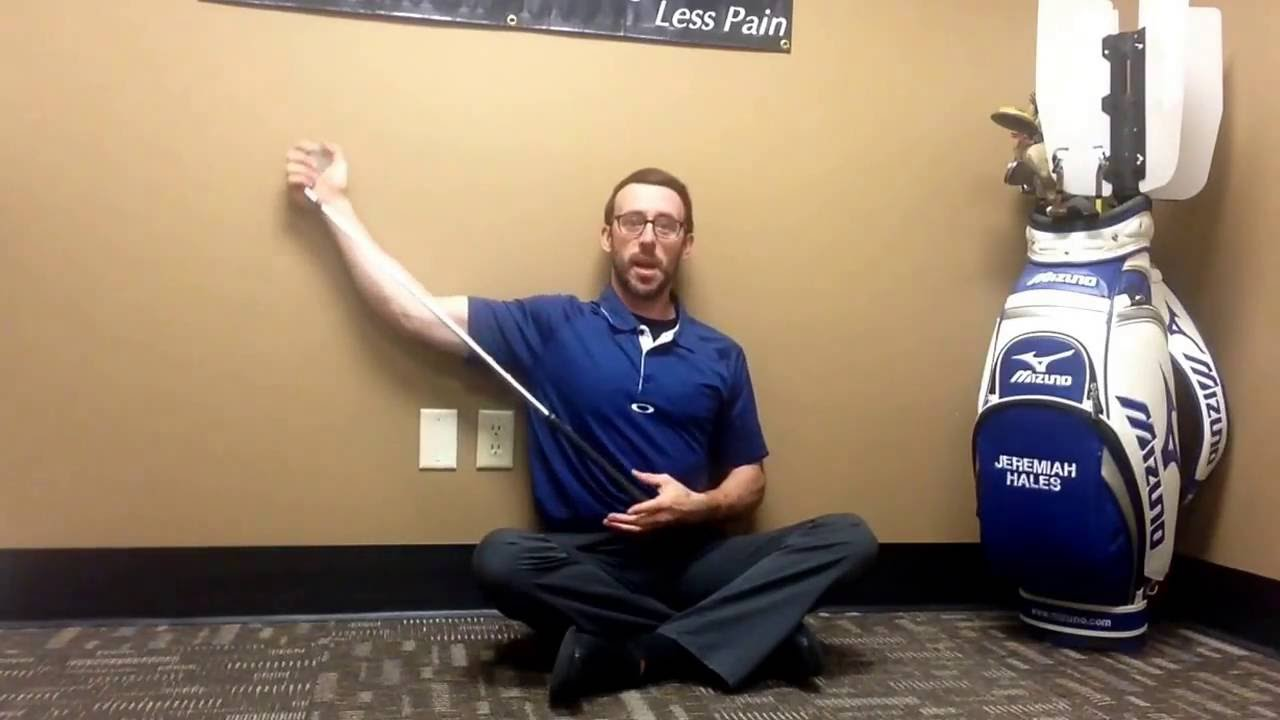 Need More Shoulder turn?  A Seated Lat turn may be a good solution!
