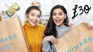 £30 PRIMARK OUTFIT CHALLENGE FT. EMILY CANHAM! + GIVEAWAY!!!