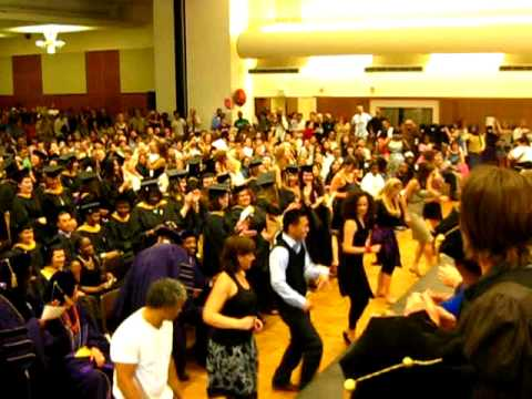 Dirty Dancing/Glee Flash Mob at 2010 UW School of Social Work graduation