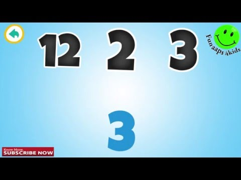 Learning Numbers 123 For Kids ! Learning Numbers Learning Game