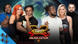 TEAM 24/7 (Kofi, Renee & Rusev) vs. TEAM CREED (Creed, E & Becky): STREET FIGHTER V - Gamer Gauntlet