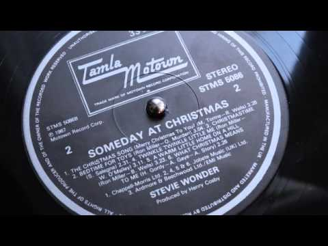 Stevie Wonder - The Christmas Song (lp 'Someday At Christmas ...