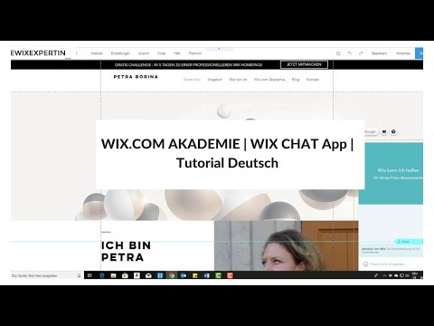 WIX.COM AKADEMIE | Wix Chat App | Tutorial Deutsch