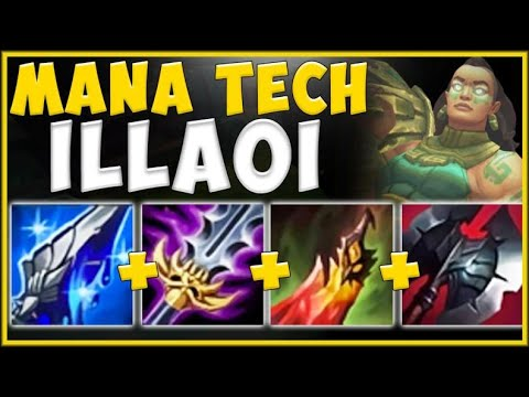 THE ULTIMATE SNOWBALL ILLAOI BUILD! MANA TECH ILLAOI TOP IS STRAIGHT UP BUSTED! - League Of Legends