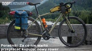 Poradnik: Za co nie warto przepłacać kupując nowy rower
