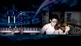 Nandemonaiya (Piano & Violin)「Kimi no Na wa」 ~ // RADWIMPS