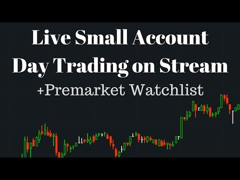 Power Hour Live Small Account Day Trading - Penny Stock Watchlist - Beginner Trading