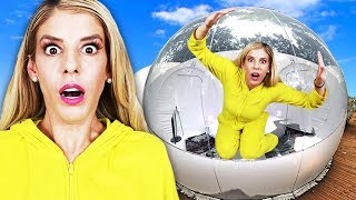 Download 24 Hours Overnight inside a GiANT BUBBLE house! 👀 (Matt hypnotized at 3am not from Game Master) Mp3 and Videos