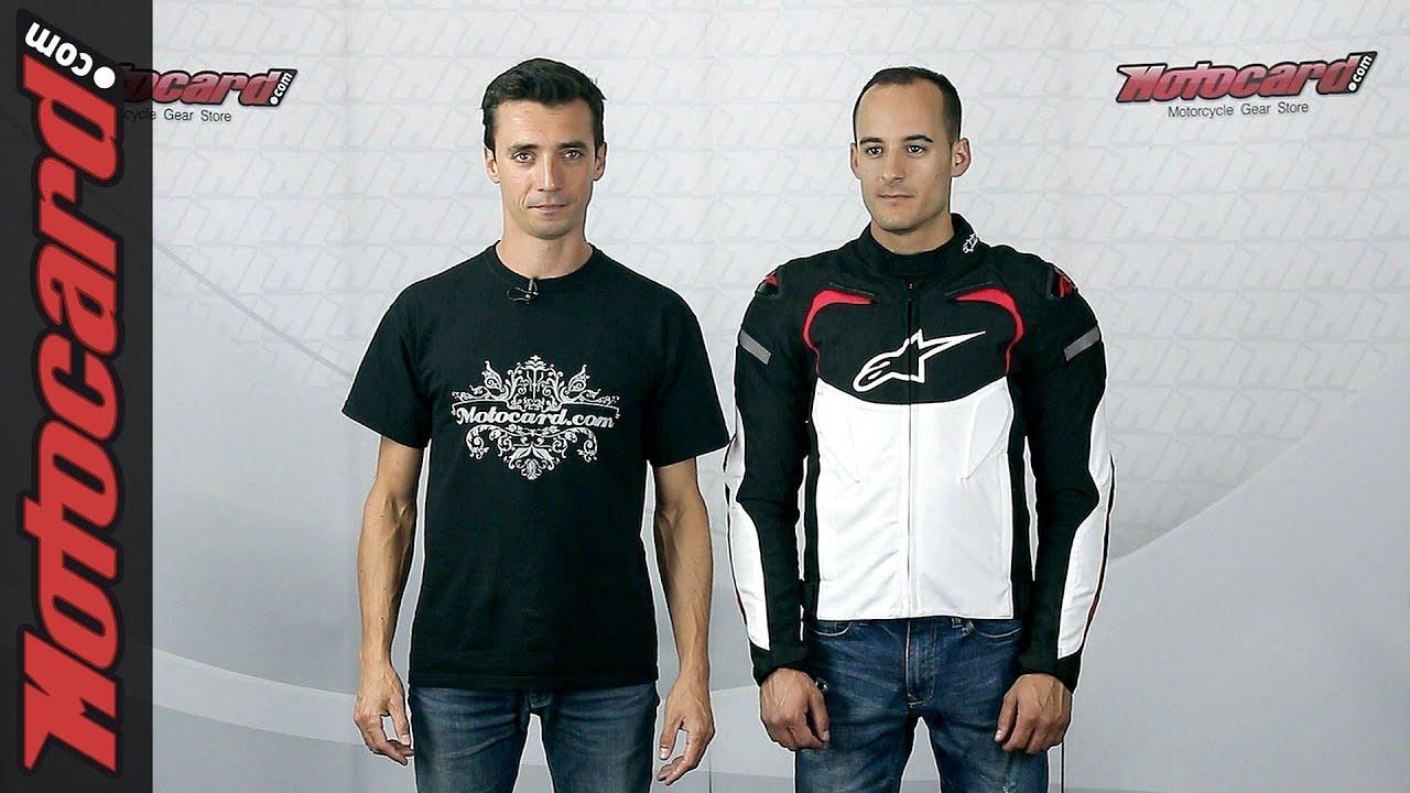 c4970849 Alpinestars T-GP Pro: análisis de la chaqueta en Motocard.com - YouTube
