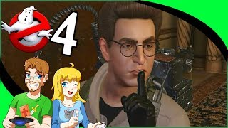 GHOSTBUSTERS The Video Game Remastered Part 4 Haunted Public Library (Nintendo Switch)