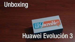 Unboxing - Huawei Evolución 3 (CM990)