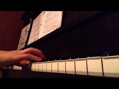 Paula - Zoe - instrumental piano - mini cover improvisado piano