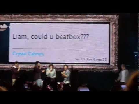 Liam Payne Beatboxing HD