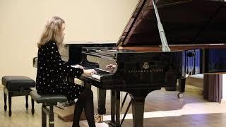 K. Balžeikaitė performs W.A. Mozart sonata C-dur the 1st Part