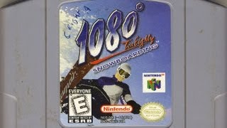 Classic Game Room - 1080 SNOWBOARDING review for N64