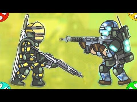 🐾 УДАРНЫЕ ГЕРОИ ИДУТ В БОЙ в мультике игре для ребят Strike Force Heroes новое видео мультфильм
