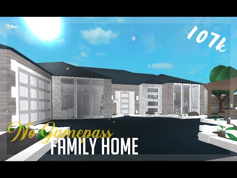Download Roblox Welcome To Bloxburg 107k No Gamepass Family Home