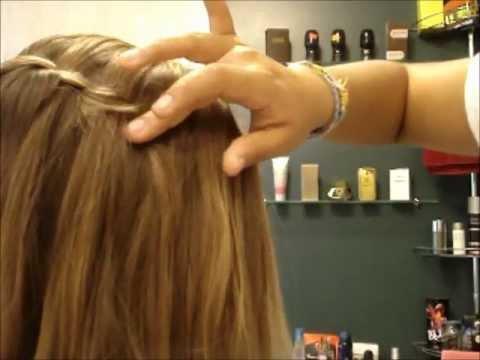 coiffure pour cheveux simple et rapide couronne en twist i marie et reb youtube. Black Bedroom Furniture Sets. Home Design Ideas