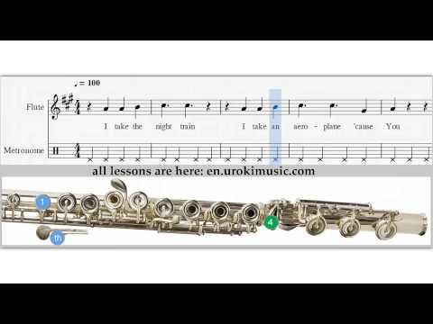 Bryan Adams - You Belong To Me - How To Play flute - Sheet Music Fingering