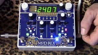 Electro Harmonix Mod Rex Polyrhythmic Modulator of love