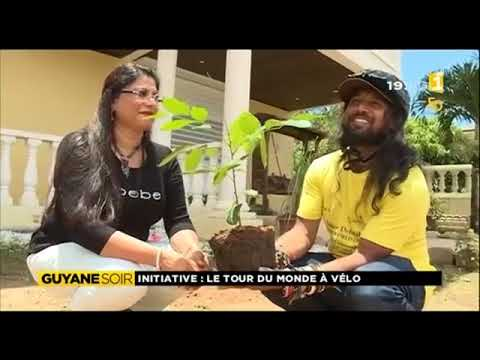 French Guiana National TV Interview: Somen Debnath