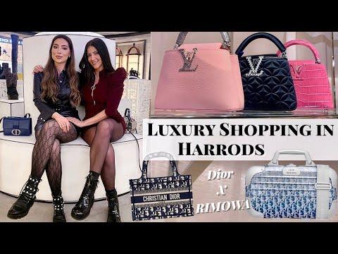 Luxury Shopping In Harrods With Erica | Dior X Rimowa, Louis Vuitton, Chanel, Fendi, YSL, Gucci